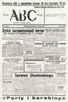 ABC : nowiny codzienne. 1938, nr24 A