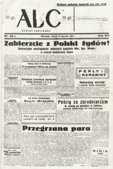 ABC : nowiny codzienne. 1938, nr26 A
