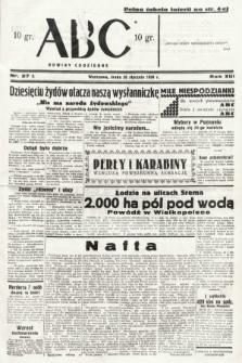 ABC : nowiny codzienne. 1938, nr27 A