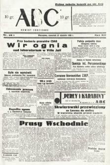 ABC : nowiny codzienne. 1938, nr28 A