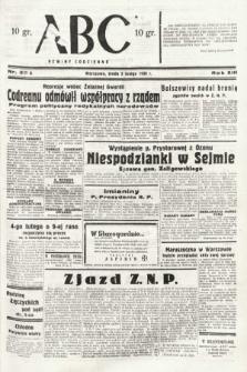 ABC : nowiny codzienne. 1938, nr35 A