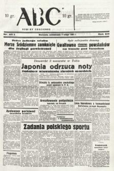 ABC : nowiny codzienne. 1938, nr40 A