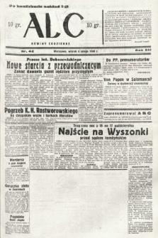 ABC : nowiny codzienne. 1938, nr42 [ocenzurowany]
