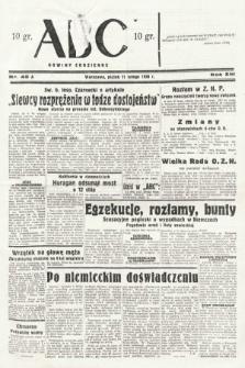 ABC : nowiny codzienne. 1938, nr45 A