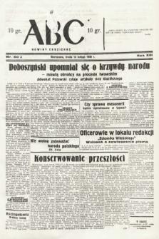 ABC : nowiny codzienne. 1938, nr50 A