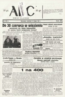 ABC : nowiny codzienne. 1938, nr51 A