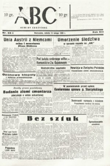ABC : nowiny codzienne. 1938, nr53 A