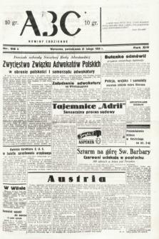 ABC : nowiny codzienne. 1938, nr55 A