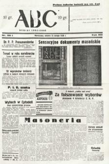 ABC : nowiny codzienne. 1938, nr56 A