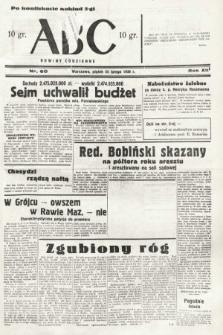 ABC : nowiny codzienne. 1938, nr60 [ocenzurowany]