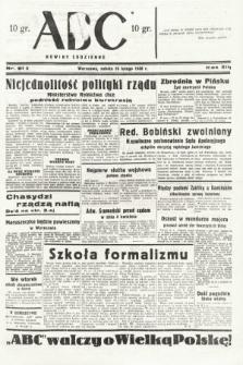 ABC : nowiny codzienne. 1938, nr61 A