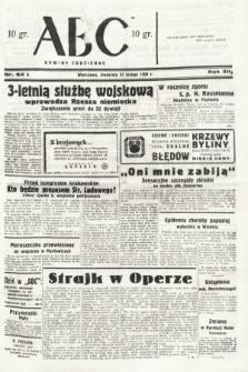 ABC : nowiny codzienne. 1938, nr62 A
