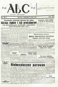 ABC : nowiny codzienne. 1938, nr64 A