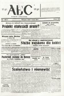ABC : nowiny codzienne. 1938, nr68 A