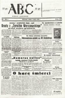 ABC : nowiny codzienne. 1938, nr69 A