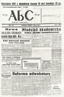 ABC : nowiny codzienne. 1938, nr71 [ocenzurowany]