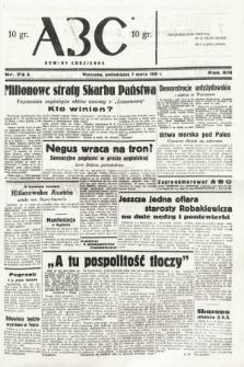 ABC : nowiny codzienne. 1938, nr72 A