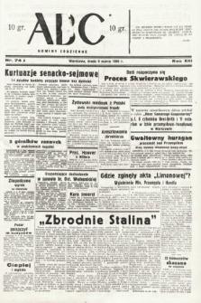 ABC : nowiny codzienne. 1938, nr74 A