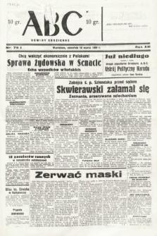 ABC : nowiny codzienne. 1938, nr75 A