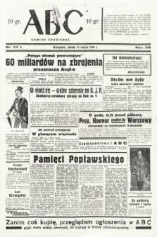 ABC : nowiny codzienne. 1938, nr77 A