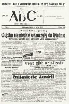 ABC : nowiny codzienne. 1938, nr78 A