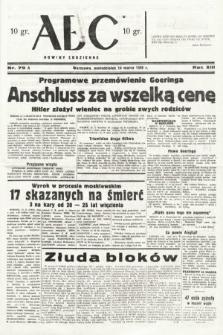 ABC : nowiny codzienne. 1938, nr79 A