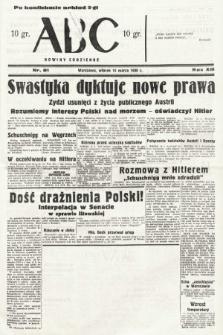ABC : nowiny codzienne. 1938, nr81 [ocenzurowany]