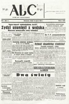ABC : nowiny codzienne. 1938, nr82 A