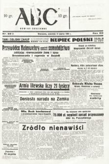 ABC : nowiny codzienne. 1938, nr83 A