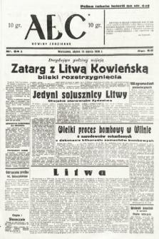ABC : nowiny codzienne. 1938, nr84 A