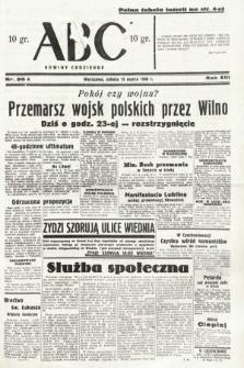 ABC : nowiny codzienne. 1938, nr85 A