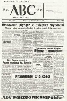 ABC : nowiny codzienne. 1938, nr89 [ocenzurowany]