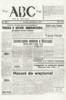 ABC : nowiny codzienne. 1938, nr95 A