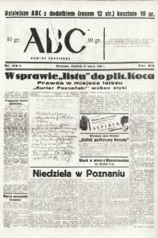 ABC : nowiny codzienne. 1938, nr96 A