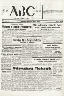 ABC : nowiny codzienne. 1938, nr98 A