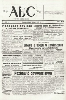 ABC : nowiny codzienne. 1938, nr99 A