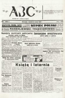 ABC : nowiny codzienne. 1938, nr100 A