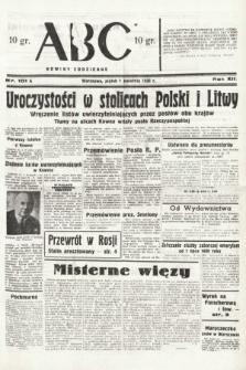 ABC : nowiny codzienne. 1938, nr101 A
