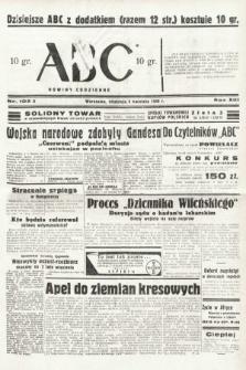 ABC : nowiny codzienne. 1938, nr103 A