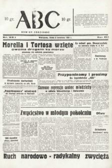 ABC : nowiny codzienne. 1938, nr106 A