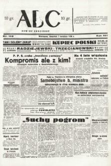 ABC : nowiny codzienne. 1938, nr108