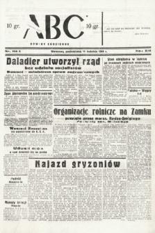 ABC : nowiny codzienne. 1938, nr112 A