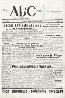 ABC : nowiny codzienne. 1938, nr113 A