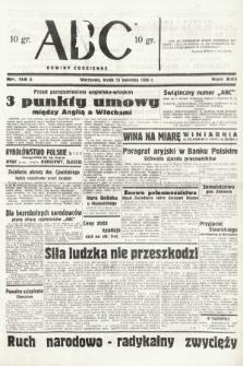 ABC : nowiny codzienne. 1938, nr114 A