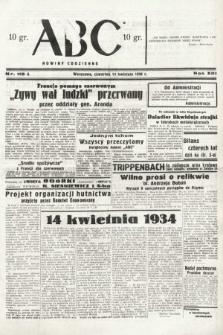 ABC : nowiny codzienne. 1938, nr115 A