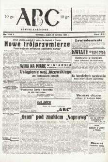 ABC : nowiny codzienne. 1938, nr116 A
