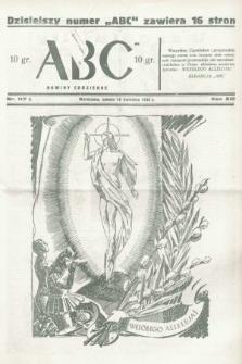 ABC : nowiny codzienne. 1938, nr117 A