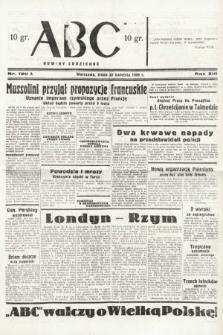 ABC : nowiny codzienne. 1938, nr120 A