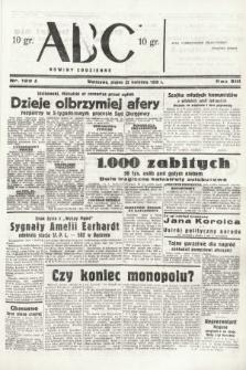 ABC : nowiny codzienne. 1938, nr122 A