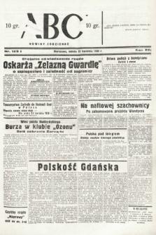 ABC : nowiny codzienne. 1938, nr123 A